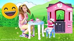 ساشا و مکس - ماشین های بزرگ اسباب بازی  - ماجراهای ساشا و مکس