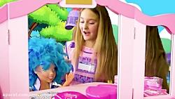 ساشا و مکس :: ساشا موهای خود را رنگ می کند :: ماجراهای ساشا و مکس  جدید