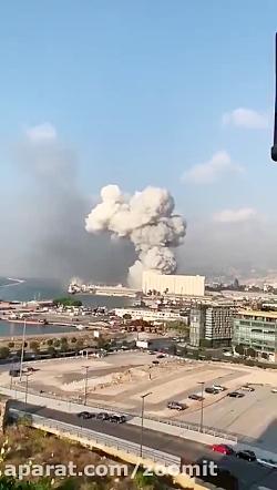 انفجار مهیب در بندر بیر...