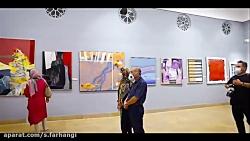 نمایش آثار گنجینه موزه ...