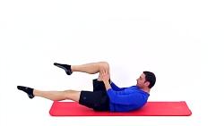 24 دقیقه تمرین پیلاتس برای پا و عضلات شکم