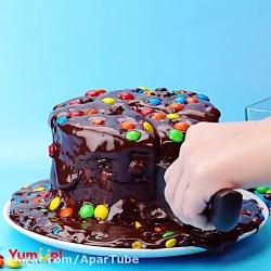 10 ترفند آشپزی تزیین کیک...
