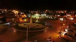 شهر زیبای صفی آباد دزفول در شب