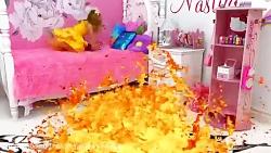 ناستیا : ناستیا و مواد مذاب در اتاقش / ماجراهای ناستیا استیسی / ناستیا استیسی