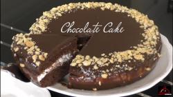 Chocolate Cake without Oven   کیک شکلاتی بدون فر     کیک شکلاتی
