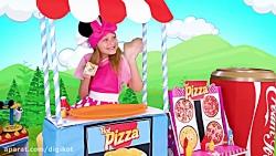 ساشا و ماشا - پیتزا فروشی ساشا - ماجراهای ساشا و ماشا