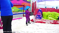 الکس و گبی :: گبی الکس و مامان در برف بازی می کنند :: ماجراهای الکس و گبی جدید