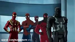 مرد عنکبوتی - انیمیشن مرد عنکبوتی شش شرور
