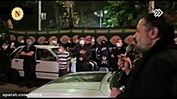 مداحی کریمی در خیابان 1400