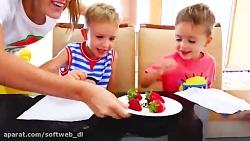 ولاد و نیکی | ماجراهای ولاد و نیکی | تقسیم کردن اسباب بازی ها بین ولاد و نیکی