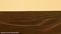 نخستین ویدیو با جمع اوری تصاویر دیدنی مریخ نور های ناسا از سطح مریخ با کیفیت4k