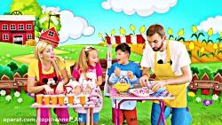 مجموعه بازی های ساشا با اسلایم / بازی کودکانه