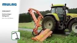 MULAG Heckausleger GHA 600 P.Rear mower GHA 600 P