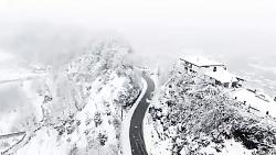 تنکابن در زمستانِ زیبا