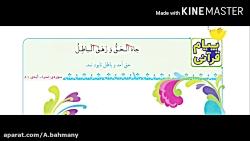 آموزش  قرآن چهارم درس ششم ، ص 36 و 37 اشرف بهمنی جلالی