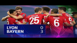 بایرن مونیخ و لیون (نیمه نهایی لیگ قهرمانان اروپا 2019-2020)