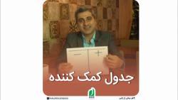 (مهیار شمس)  جدول کمک کننده.. انتخاب