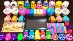 بازی با اسلایم ::: مجموعه اسلایمهای رنگی و افزودنی اسلایم