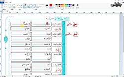 ویدیو حل تمرین درس اول عربی دوازدهم بخش 2