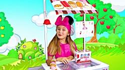 ماجراهای ساشا / بستنی فروشی ساشا