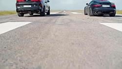 رقابت درگ ب ام و X6 M کامپتیشن با جگوار اف تایپ R