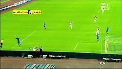 مهار پنالتی توسط بوفون در بازی کرواسی - ایتالیا