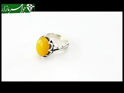 انگشتر عقیق حکاکی شرف الشمس - کد 6900
