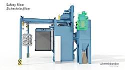 Wheelabrator HB Hanger Type Blast Machine