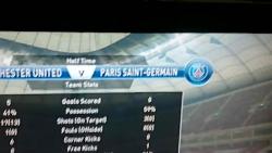 manchester united 5-0 paris saint germain...