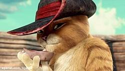 گربه ی چکمه پوش دوبله ی فارسی کیفیت ۳۶۰