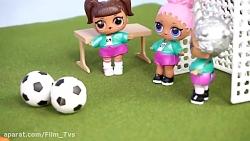 کارتون باربی / بازی فوتبال باربی / عروسک باربی