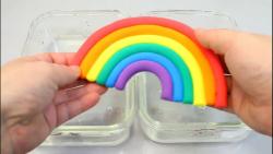 بازی با اسلایم »»» اسلایم شفاف و میکاپ و اسلایم رنگی