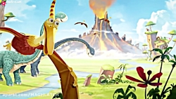 کارتون کودکانه این داستان - دایناسورهای توانا