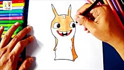 آموزش نقاشی خلاقانه برای کودکان - نقاشی کودکانه
