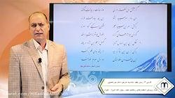 ویدیو آموزش درس پنجم فارسی دوازدهم