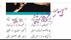 ویدیو آموزش درس 6 فارسی دوازدهم بخش1