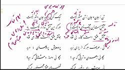 ویدیو آموزش درس 6 فارسی دوازدهم بخش 2