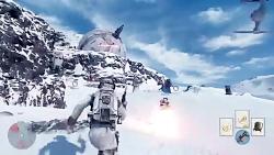 تریلر گیم پلی بازی StarWars: Battlefront تریلر گیم پلی