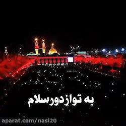 فیلم : از حرم امام حسین علیه السلام
