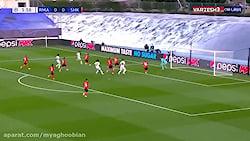 خلاصه بازی رئال مادرید 2 - شاختار 3