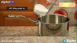 آموزش آشپزی حلوای مجلسی36