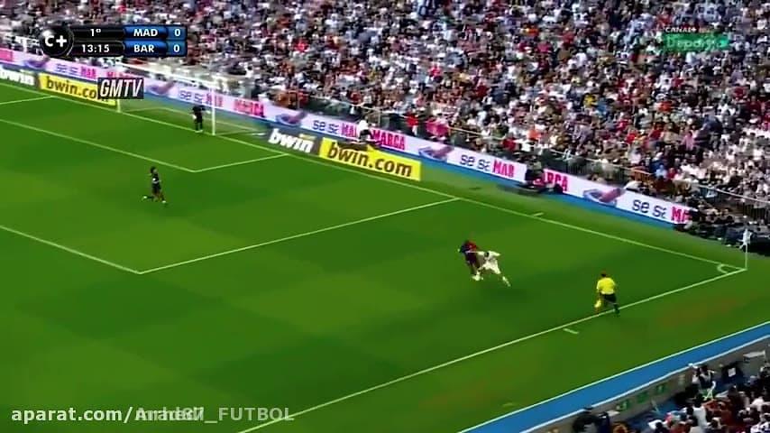 پیروزی خاطره انگیز بارسلونا بر رئال مادرید با نتیجه 6 بر 2