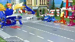 ماشین بازی کودکانه - اسباب بازی کودکان - نبرد ماشین اتش نشانی