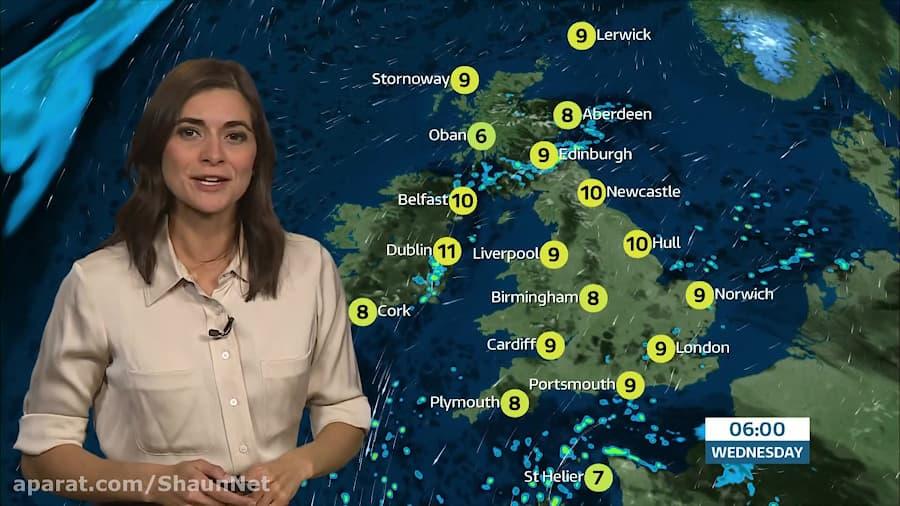 Lucy Verasamy - ITV Weather 13Oct2020