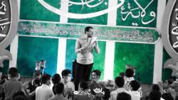 مولودی خوانی کربلایی علی اکبر حائری (مرد بی تکرار حیدر) هیئت غدیریه اصفهان