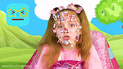 ماجراهای ساشا / اسباب بازی های دخترانه که در صورت ساشا گیر می کند