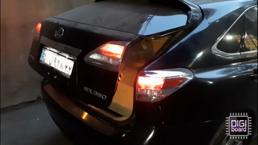 تعمیر در صندوق برقی لکسوس Lexus