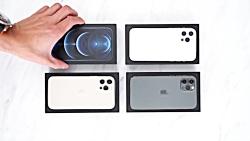 جعبه گشایی آیفون ۱۲ پرو مکس آیا بزرگتر بهتر است ؟؟؟ iPhone 12 Pro Max UNBOXING
