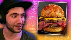 چالش غیرممکن غذا //یوتیوبر :rwin show