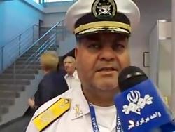 بازدید دریادار سیاری از نمایشگاه روسیه